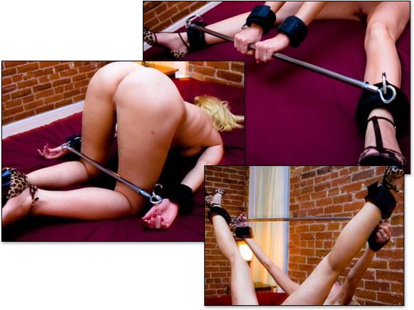 Колодка для секса для фиксации рук и ног
